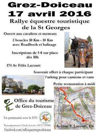 Rallye équestre Saint-Georges